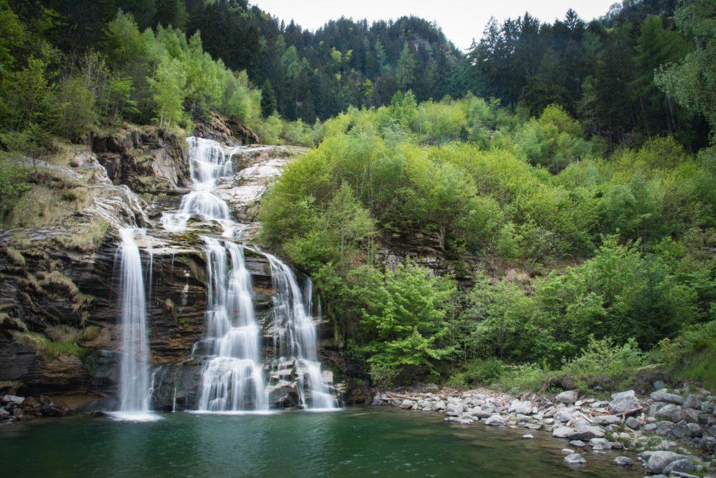 Wasserfall von Faido