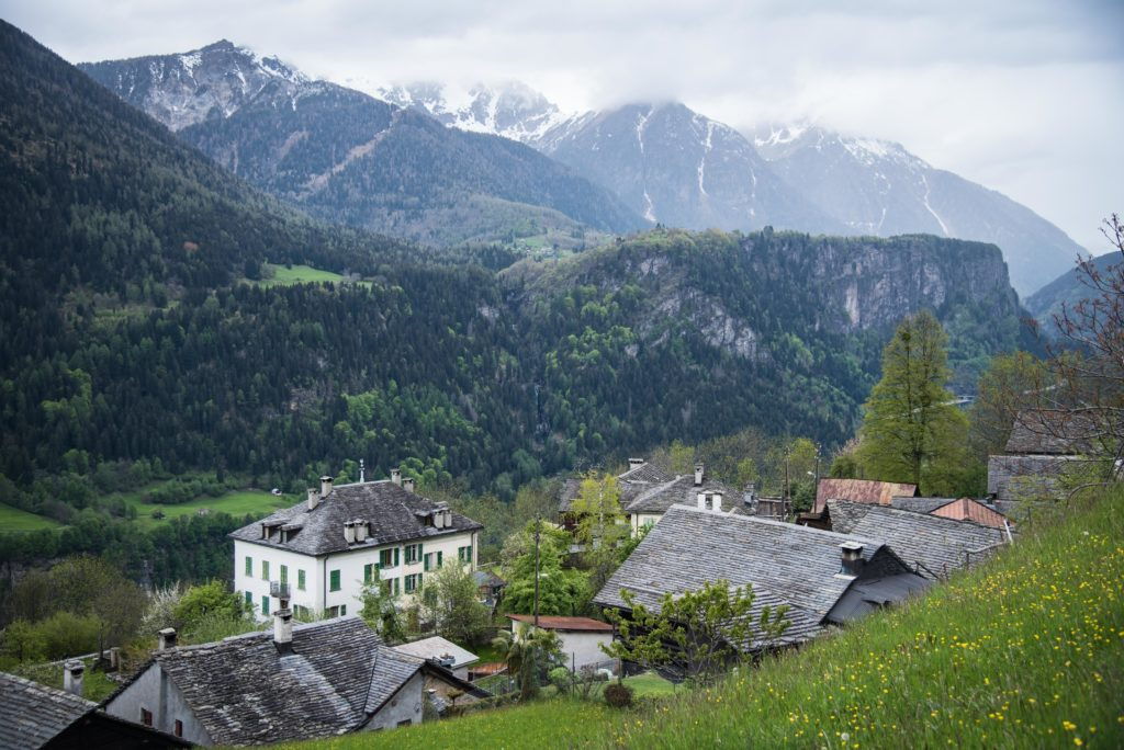Blick auf das Gotthard-Tal