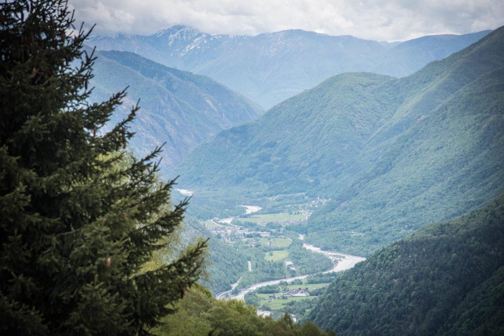 Aussicht ins Maggiatal