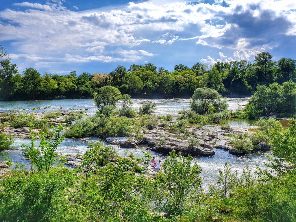 Isteiner Schwellen am Rhein