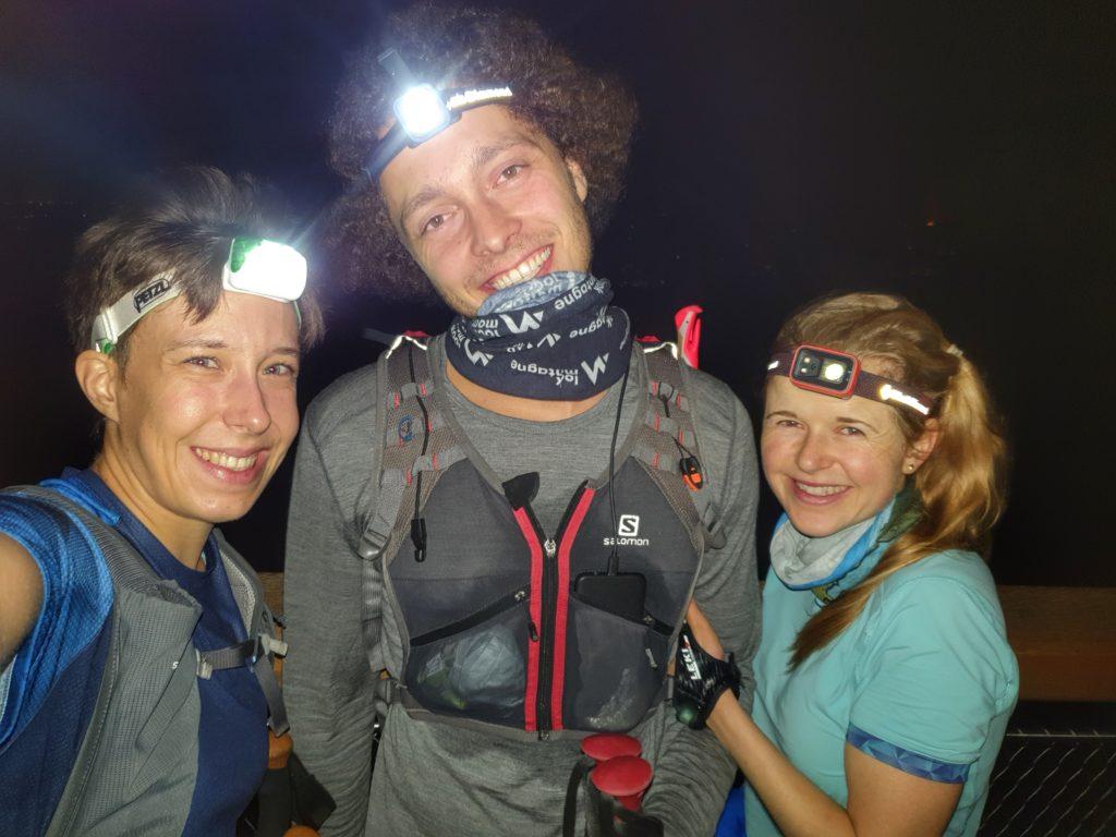 Everesting bei Nacht